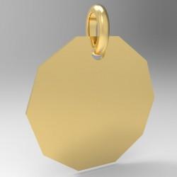 Médaille décagone
