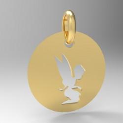 Médaille Silhouette fée