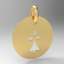 Médaille Silhouette hermine